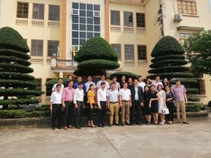 Đoàn cán bộ quản lý giáo dục huyện Sông Mã, tỉnh Sơn La thăm một số trường tiêu biểu của huyện Nam Trực